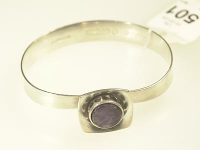 1 armring i silver m