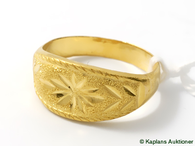 Ring, 22K Ø18