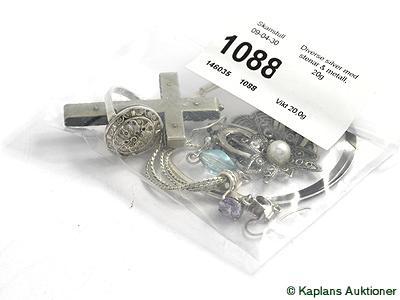 Slutpris för Diverse silver med 609d2fa7d5d87