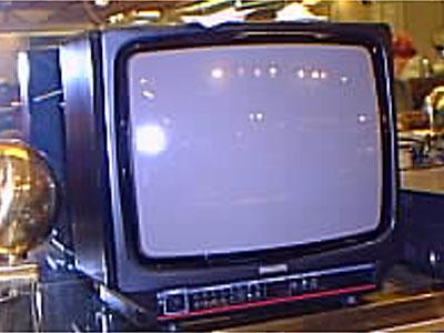 1 färg tv philips 14tum